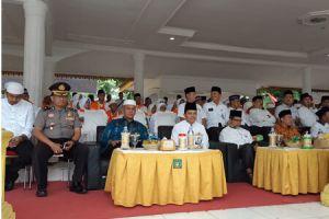 Ketua Pengadilan Agama Stabat Hadiri Pelepasan Jamaah Calon Haji